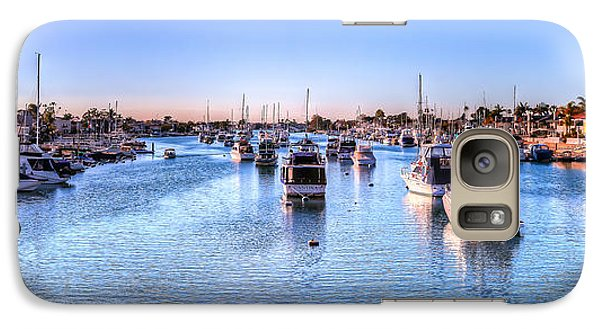 Galaxy Case featuring the photograph Beacon Bay by Jim Carrell