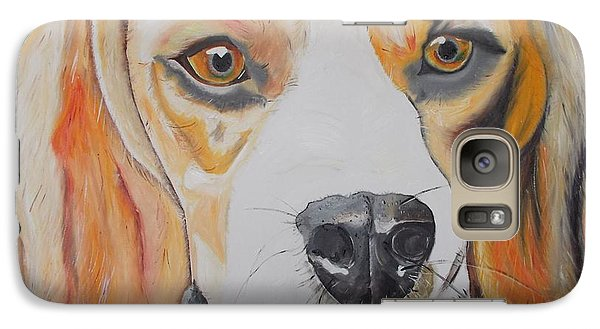 Galaxy Case featuring the painting Beagle by PainterArtist FIN