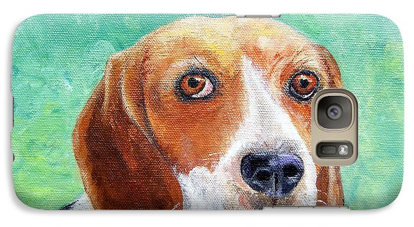 Galaxy Case featuring the painting Beagles Rock by Terry Taylor