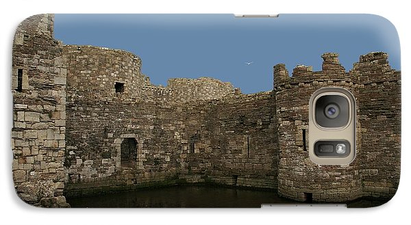 Galaxy Case featuring the photograph Beamaris Castle by Christopher Rowlands