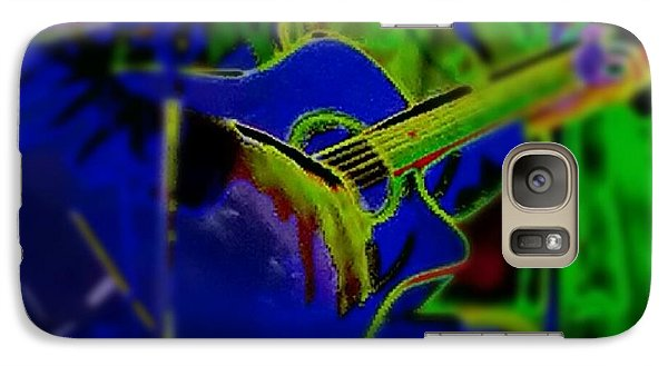 Galaxy Case featuring the photograph Beanstalk by Thomasina Durkay