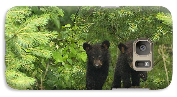 Galaxy Case featuring the photograph Bear Buddies by Coby Cooper