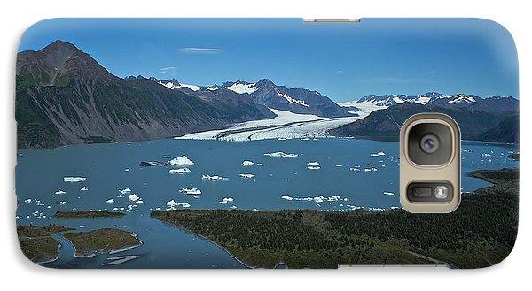 Galaxy Case featuring the photograph Bear Glacier Seward Alaska by Michael Rogers