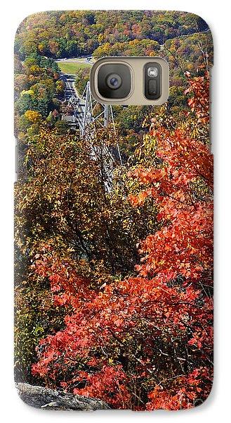 Galaxy Case featuring the photograph Bear Mountain Bridge by Rafael Quirindongo