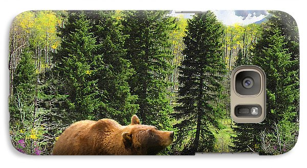 Galaxy Case featuring the painting Bear Necessities Ill by Doug Kreuger