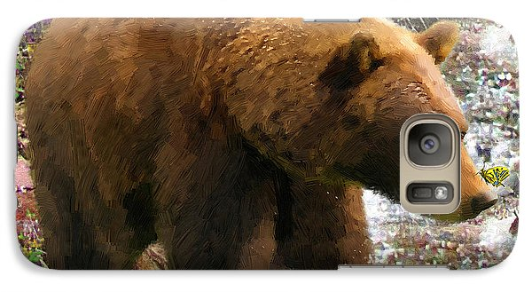 Galaxy Case featuring the painting Bear Necessities II by Doug Kreuger