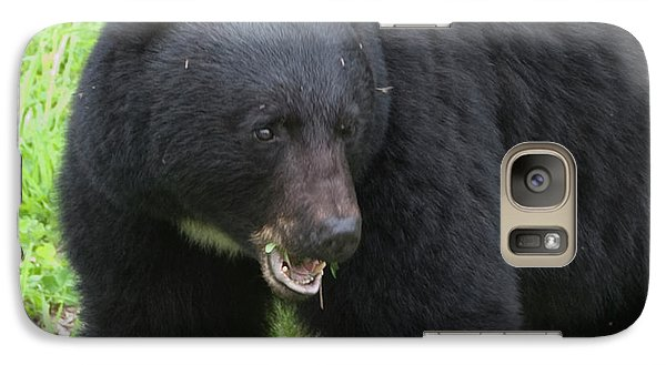 Galaxy Case featuring the photograph Bear by Rod Wiens