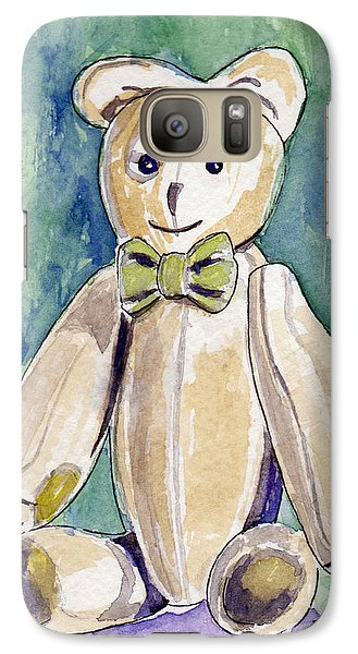 Galaxy Case featuring the painting Beary Well Thank You by Julie Maas