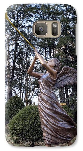 Galaxy Case featuring the photograph Beautiful Angel by Gene Walls