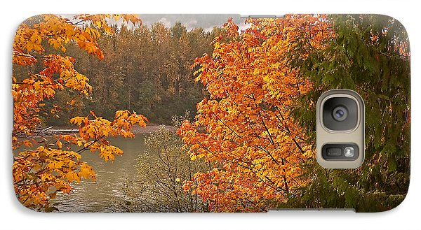 Galaxy Case featuring the photograph Beautiful Autumn Gold Art Prints by Valerie Garner