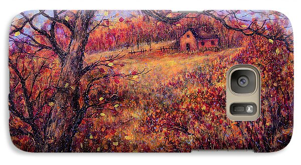 Galaxy Case featuring the painting Beautiful Autumn by Natalie Holland