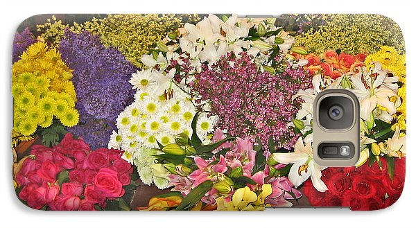 Galaxy Case featuring the photograph Beautiful Blooms by Judith Morris