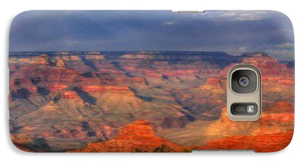 Galaxy Case featuring the painting Beautiful Canyon by Bruce Nutting