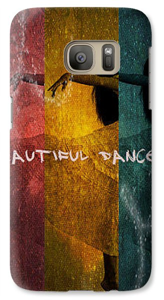Galaxy Case featuring the digital art Beautiful Dancer by Absinthe Art By Michelle LeAnn Scott