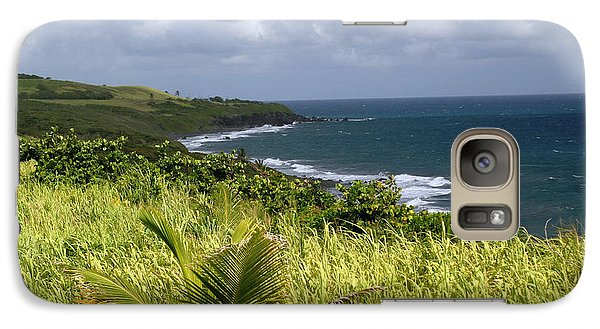Galaxy Case featuring the photograph Beautiful Island Of St. Kitts by Living Color Photography Lorraine Lynch