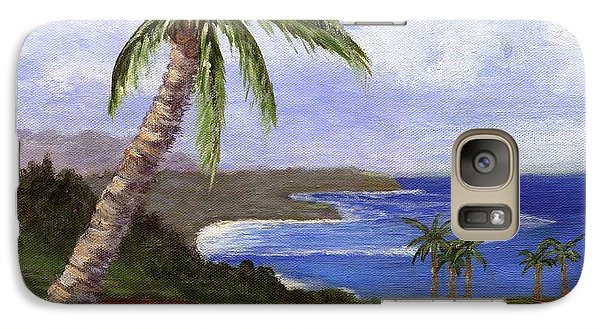 Galaxy Case featuring the painting Beautiful Kauai by Jamie Frier