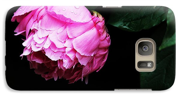 Galaxy Case featuring the photograph Beautiful Peony by Trina  Ansel