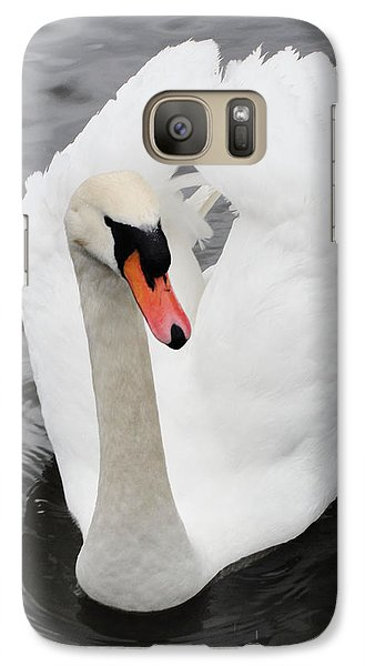 Galaxy Case featuring the photograph Beautiful Swan by Tiffany Erdman