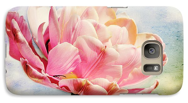 Galaxy Case featuring the photograph Beautiful Tulip by Trina  Ansel