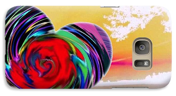 Galaxy Case featuring the digital art Beautiful Views Exist by Catherine Lott