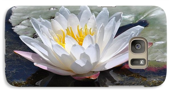 Galaxy Case featuring the photograph Beautiful Water Lily by Michele Kaiser