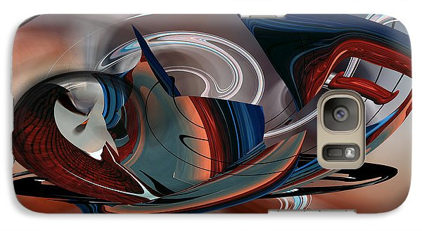 Galaxy Case featuring the digital art Beautiful Whimsey by rd Erickson