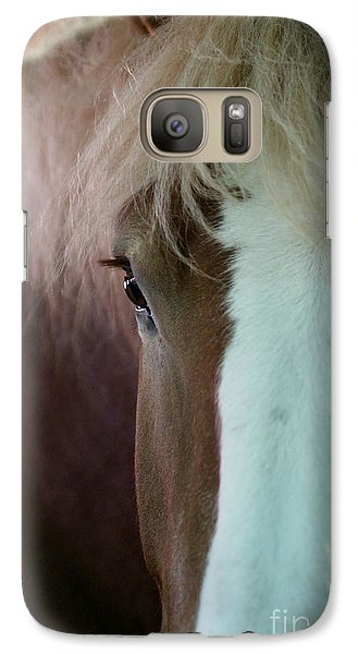 Galaxy Case featuring the photograph Beautiful Within Him Was The Spirit - 1 by Linda Shafer