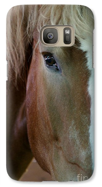 Galaxy Case featuring the photograph Beautiful Within Him Was The Spirit - 2 by Linda Shafer