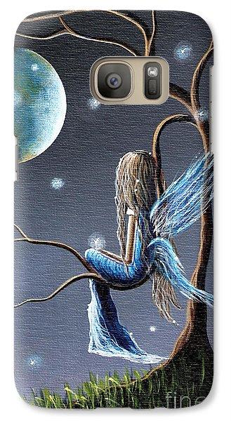 Fairy Galaxy S7 Case - Fairy Art Print - Original Artwork by Shawna Erback