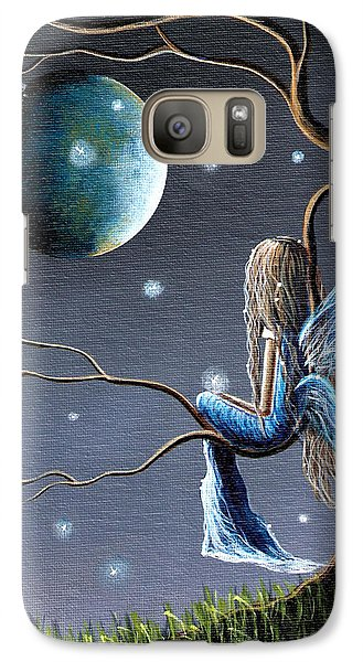 Fairy Art Print - Original Artwork Galaxy S7 Case by Shawna Erback