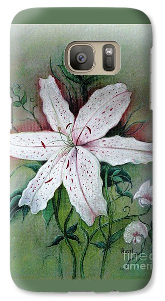 Galaxy Case featuring the painting Beauty For Ashes by Hazel Holland
