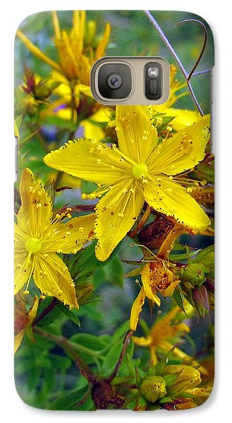 Galaxy Case featuring the photograph Beauty In A Weed by I'ina Van Lawick