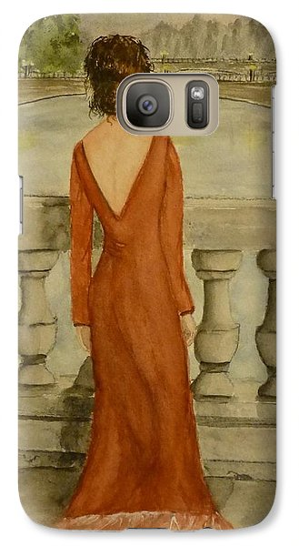 Galaxy Case featuring the painting Beauty In Paris by Kelly Mills
