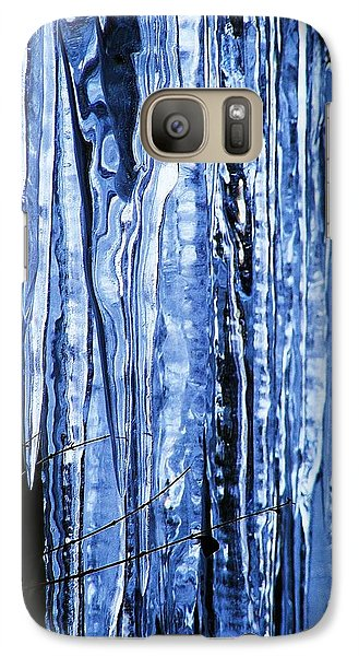 Galaxy Case featuring the photograph Beauty Of Ice by James McAdams