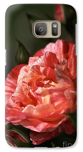 Galaxy Case featuring the photograph Beauty Of Rose by Joy Watson