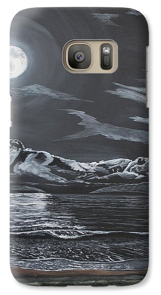 Galaxy Case featuring the painting Beauty Of The Night by Ian Donley