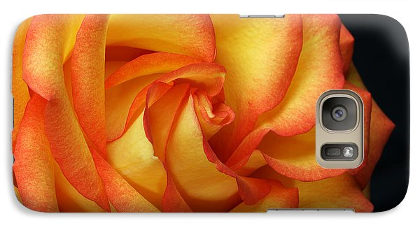 Galaxy Case featuring the photograph Beauty Unfolds by Judy Whitton
