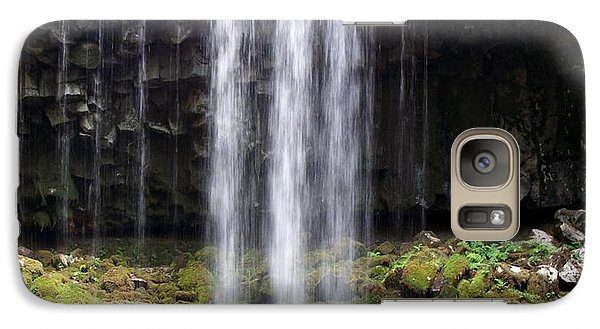 Galaxy Case featuring the photograph Beaver Falls by Chalet Roome-Rigdon