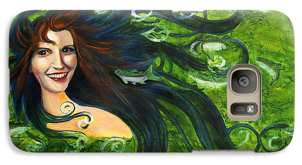 Galaxy Case featuring the painting Lady Of The Lake by Denise Deiloh