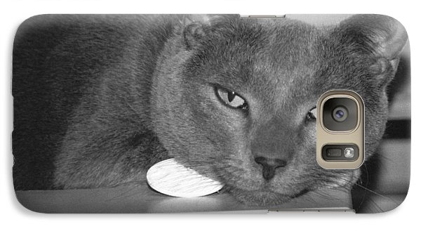 Galaxy Case featuring the photograph Bedroom Eyes by Philomena Zito