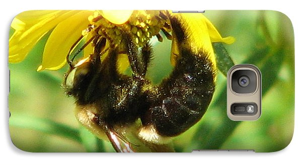 Galaxy Case featuring the photograph Bee All In by Cleaster Cotton