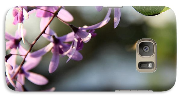 Galaxy Case featuring the photograph Bee Back by Greg Allore