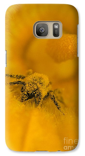 Bee In Pollen Galaxy S7 Case