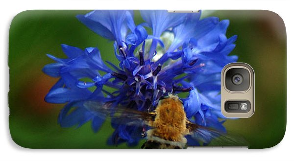Galaxy Case featuring the photograph Bee by Leticia Latocki
