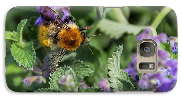 Galaxy Case featuring the photograph Bee Too by David Gleeson
