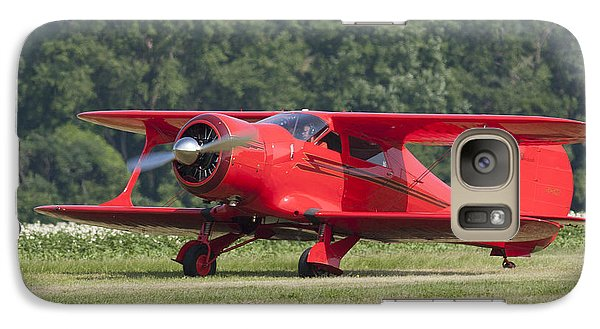 Galaxy Case featuring the photograph Beechcraft Staggerwing I by Timothy McIntyre