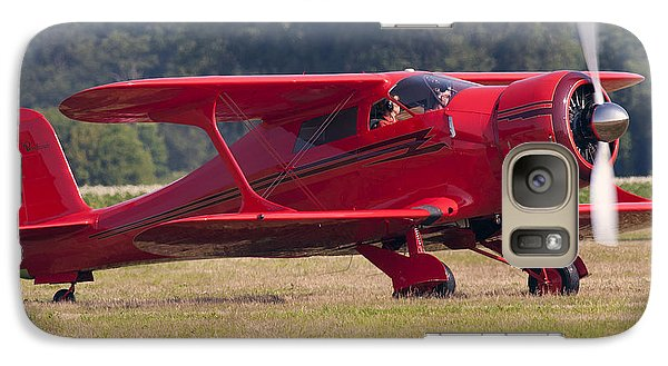 Galaxy Case featuring the photograph Beechcraft Staggerwing by Timothy McIntyre