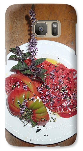 Galaxy Case featuring the photograph Beefsteak by Robert Nickologianis