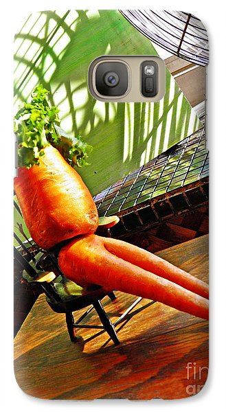 Beer Belly Carrot On A Hot Day Galaxy S7 Case