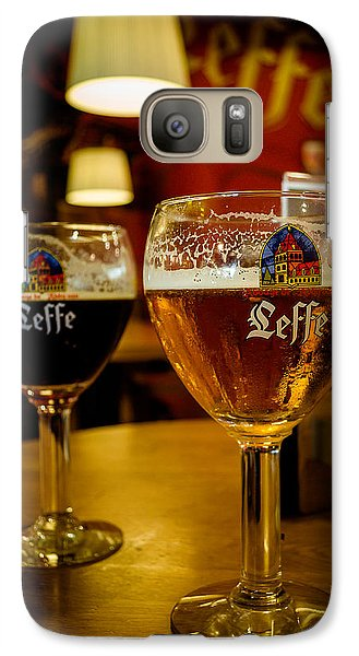 Galaxy Case featuring the photograph Beer by Sergey Simanovsky